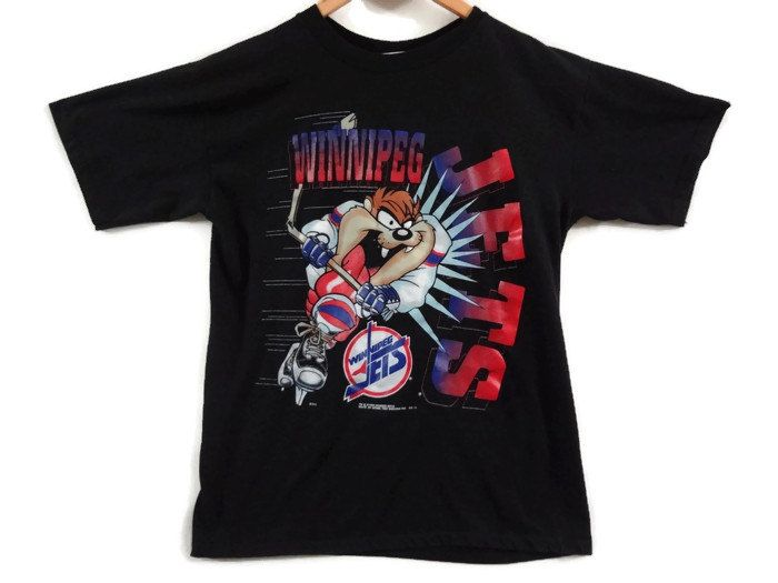 winnipeg jets vintage t shirt