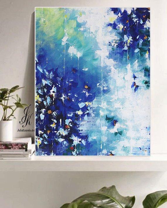 Abstract Acrylic Printable Blue Abstract Print Digital Download Abstract Art On Canva Abstract Canvas Wall Art Abstract Art Painting Diy Abstract Art Prints