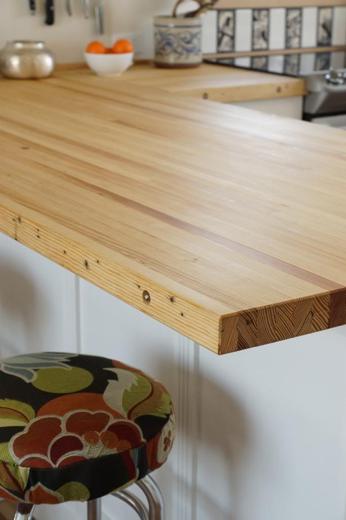 Reuse Projects Bowling Alley Table Wood Countertops