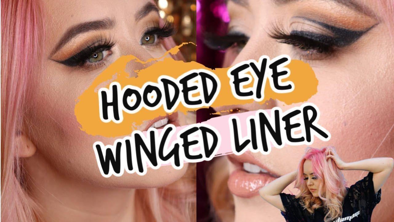 TikTok Makeup Hack Hooded Eyelid Winged Eyeliner Pro