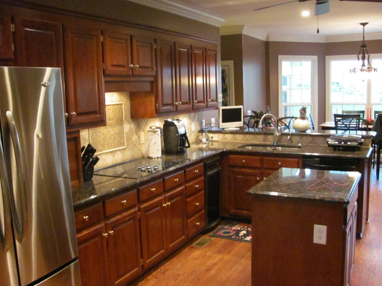 Remodeled Kitchens  Kitchen Remodel In Charlotte With Eatin Fascinating Remodeling Kitchen Design Ideas