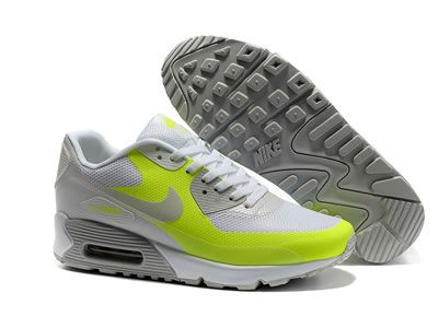 Der Nike Air Max 90 Hyperfuse Gelb Grün Grau Online Verkauf Für Herren  Schuhe besitzt eine