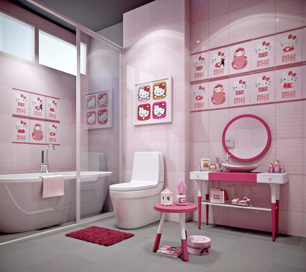 Hello Kitty Bathroom Set C Set Sears