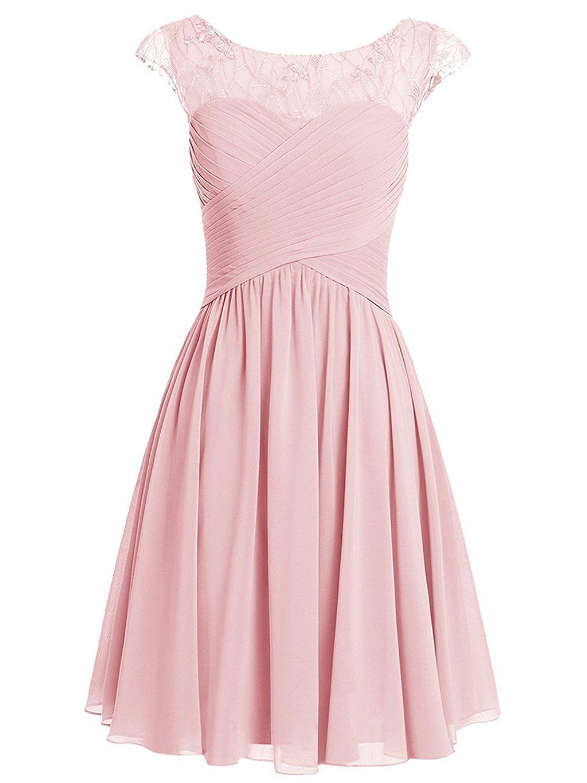 38f8e9bcd1 Pink Homecoming DressCute Homecoming DressShort Prom DressJuniors
