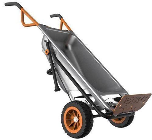 WG050 WORX AeroCart: 8-in-1 Multi-Function WheelBarrow Yard Cart #Worx