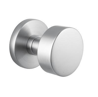 Emtek Stainless Steel Round Door Knob w/Disk Rosette Stainless Steel ...