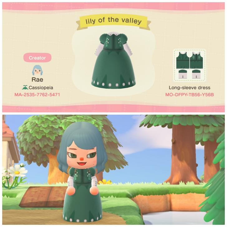 My first time making clothes! Here's my Lily of the Valley