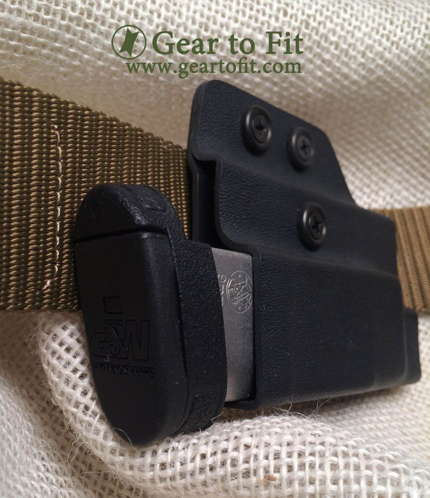 Concealed Carry Magazine Holder Concealed OWB magazine holder Runs horizontally for comfort and 7
