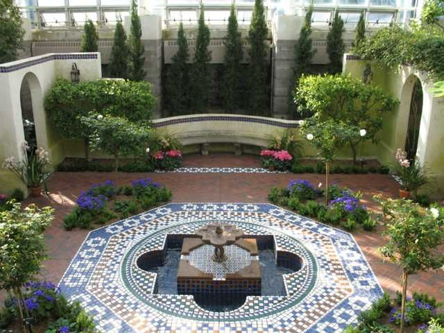 Genial Spanish Style Gardens | Traditional Spanish Garden Is A Style Of Garden Or  Designed .