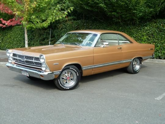 1967 Fairlane Ford Mustang Classic
