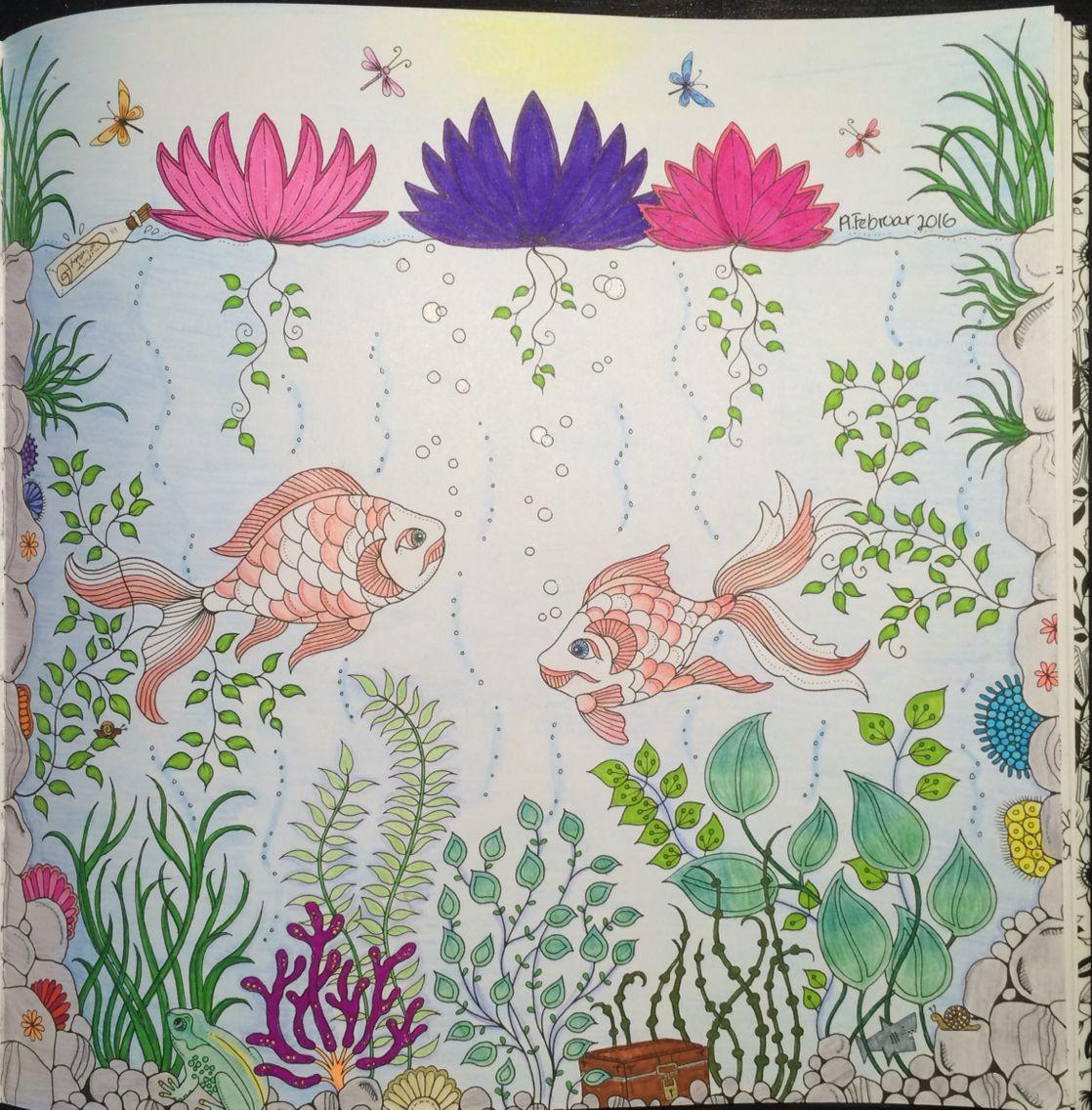 Fish From Johanna Basfords Secret Garden
