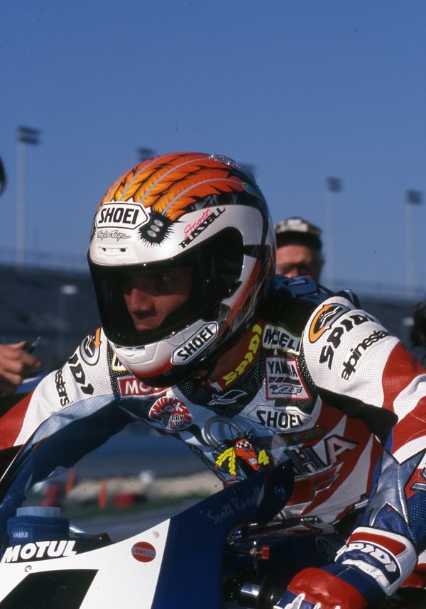 Scott Russell Became The First Rider To Win The Daytona 200 5 Times