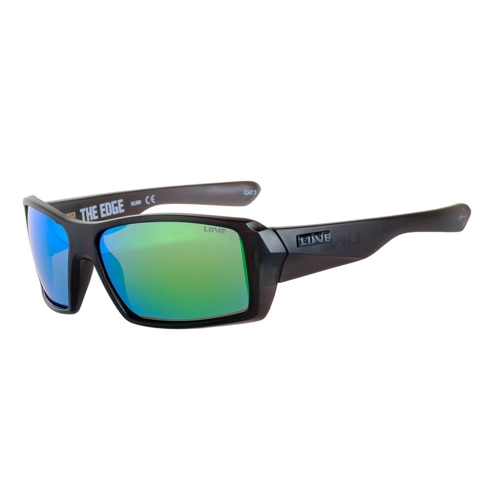 24d49ed5e07 eBay  Sponsored Liive Vision The Edge Mirror Polarised Floating Matt Xtal  Smoke Sunglasses L0643