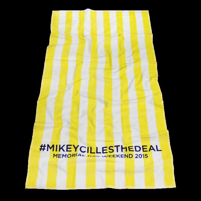 Latitude Striped Beach Towel Beach Towel Cotton Plant Towel