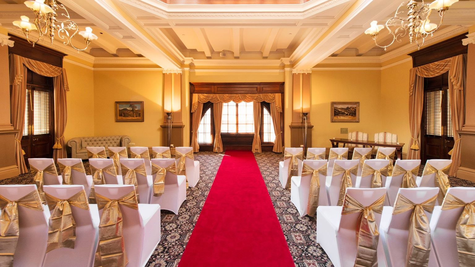 wedding receptions gold coast qld%0A Tie the knot at Treasury Heritage Hotel  one of Brisbane u    s most elegant wedding  venues