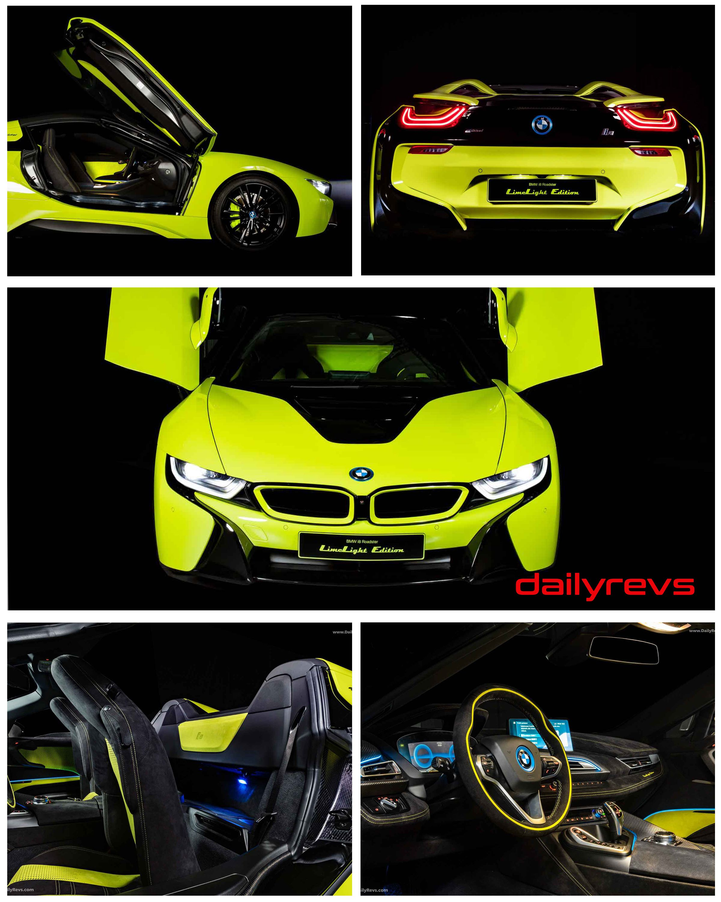 2020 BMW i8 Roadster Limelight Edition HD Pictures