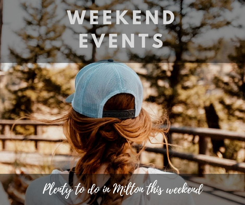 ☀️There are loads of events in Milton 🚘 🎥 this weekend