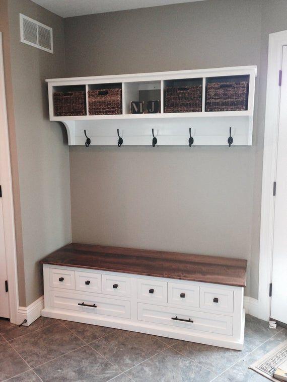 Mudroom Bench / Shoe Storage Bench / Entryway Bench / Storage Bench / Bedroom Bench