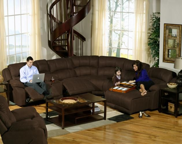 You can build this sectional to fit any room! sectionals Pinterest - wohnzimmer ideen braune couch
