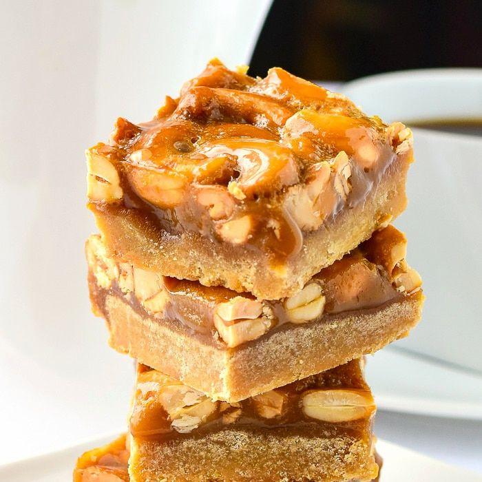 Photo of Honey Cashew Cookie Bars