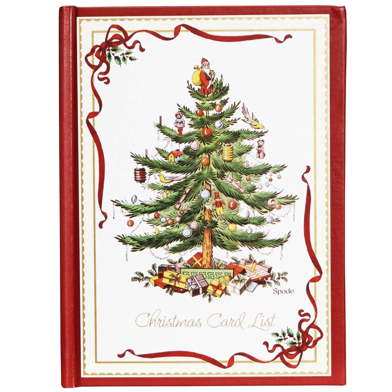 Christmas Card List Books