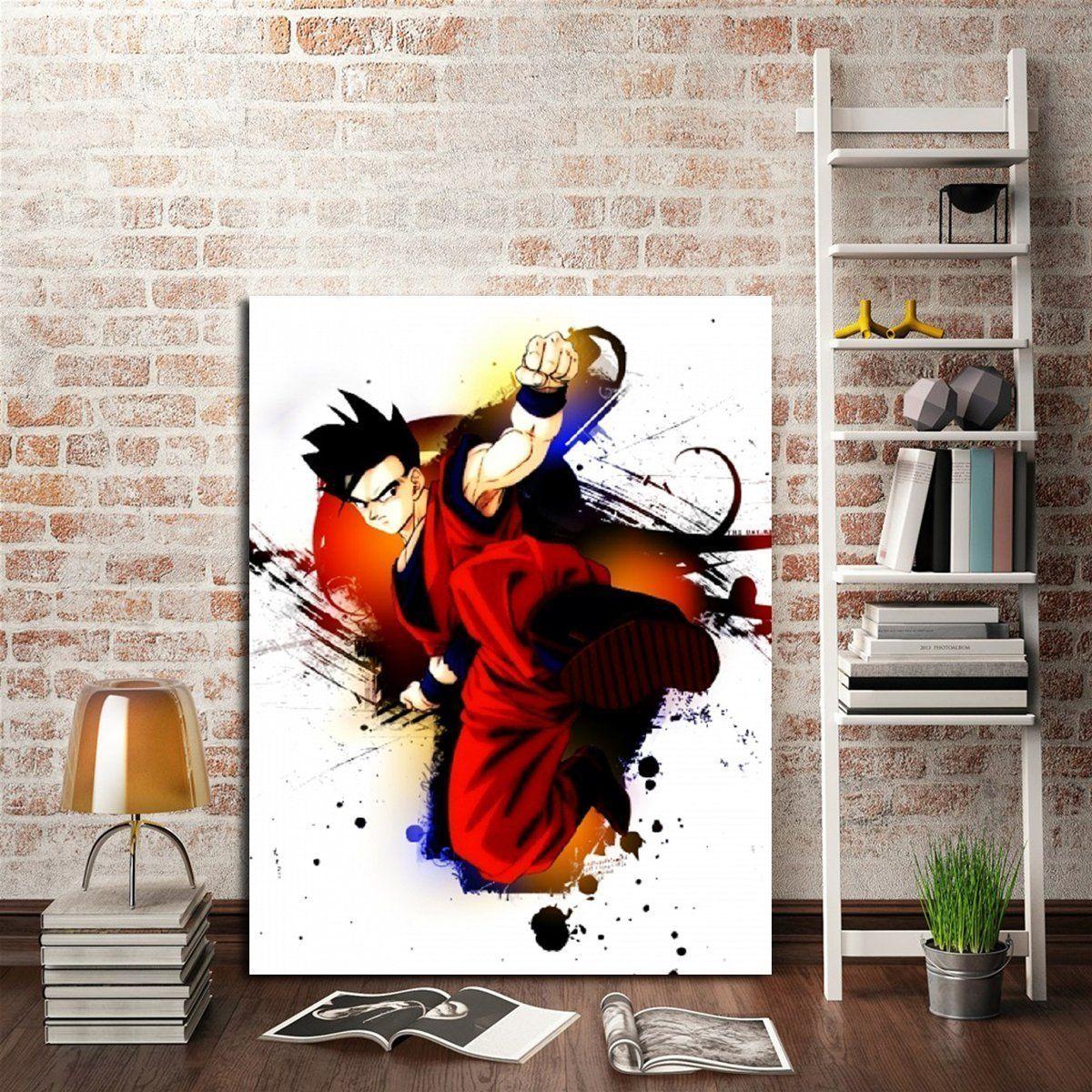 anime wall art canvas