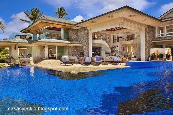 Casas grandes con piscina mis fotograf as casas - Fotos de casas con piscina ...