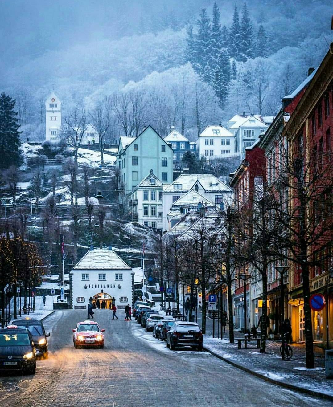 c9fb0cced36a Bergen Norway s Second City and the Gateway to the Fjords. Photo by   mittvestland on Instagram.