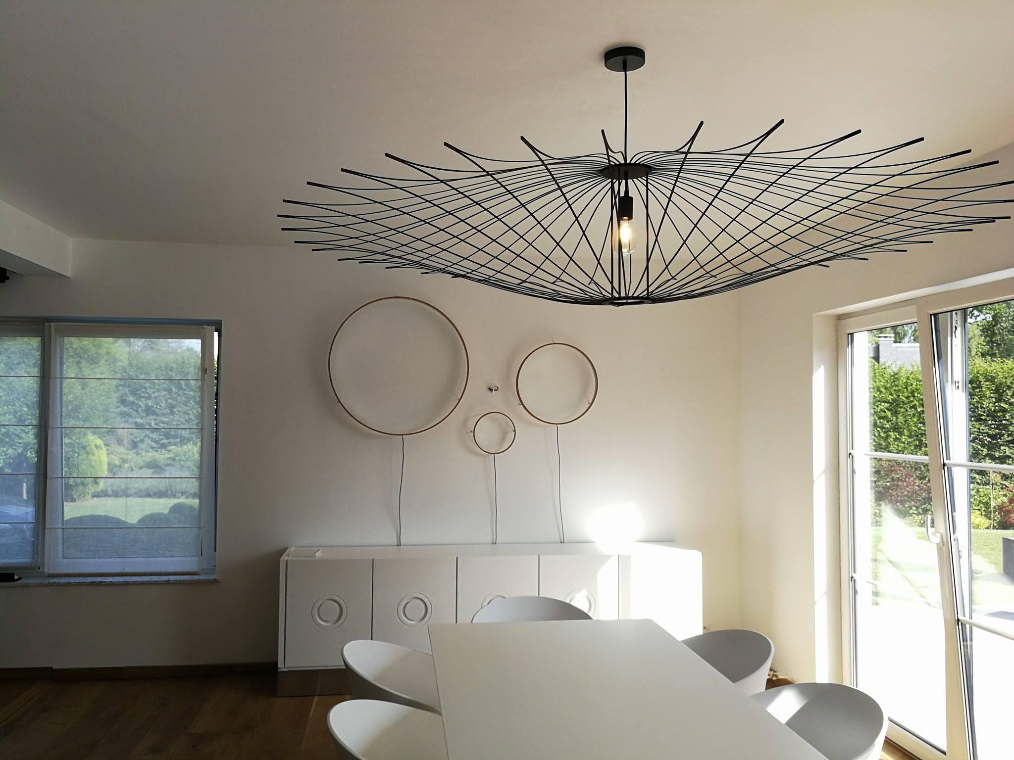 luminaire double maxime en bois noir artmaker deco. Black Bedroom Furniture Sets. Home Design Ideas