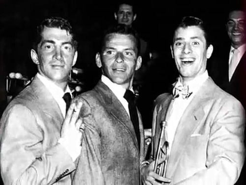 Dean Martin, Frank Sinatra, Jerry Lewis...a few years agooo! - UPLOAD by: Michel Reno