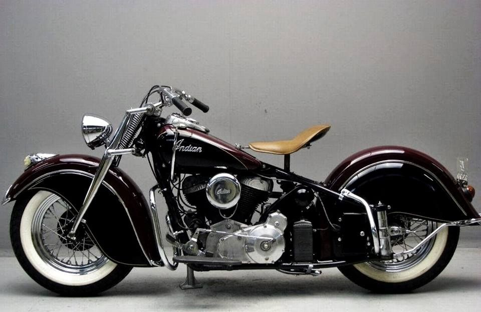 1946 Indian Chief 1200 From Yesterday S Indian Motorbike