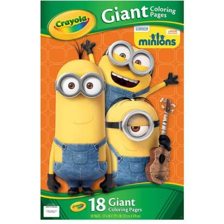 Crayola Giant Coloring Pages Minions