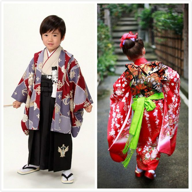 cd1f495ad8375 japanese cultural dress | Kimono for little girls and boys ...