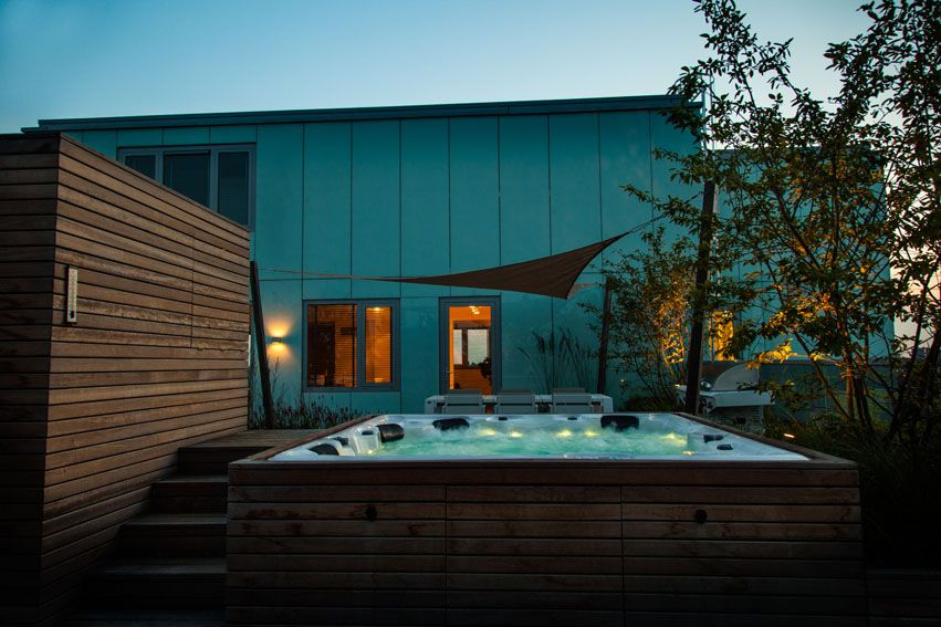 Ontwerp dakterras bij penthouse rooftop terrace design penthouse