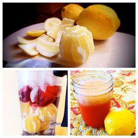 riddlelove: Raw Strawberry Lemonade Slushies ~ A Recipe