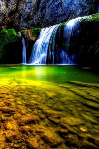 HD Waterfall 3D Live Wallpaper | AWESOME NATURE | Pinterest | Live wallpapers, Wallpaper and ...