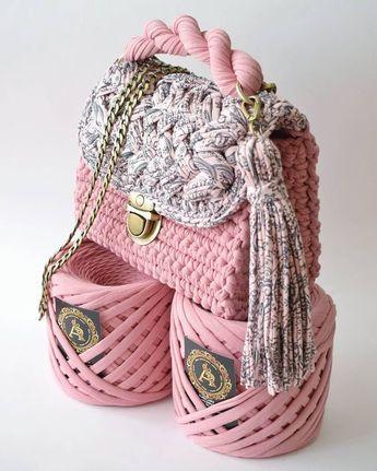 Сумки в'язані гачком: модні ідеї на всі випадки життя | Ідеї декору