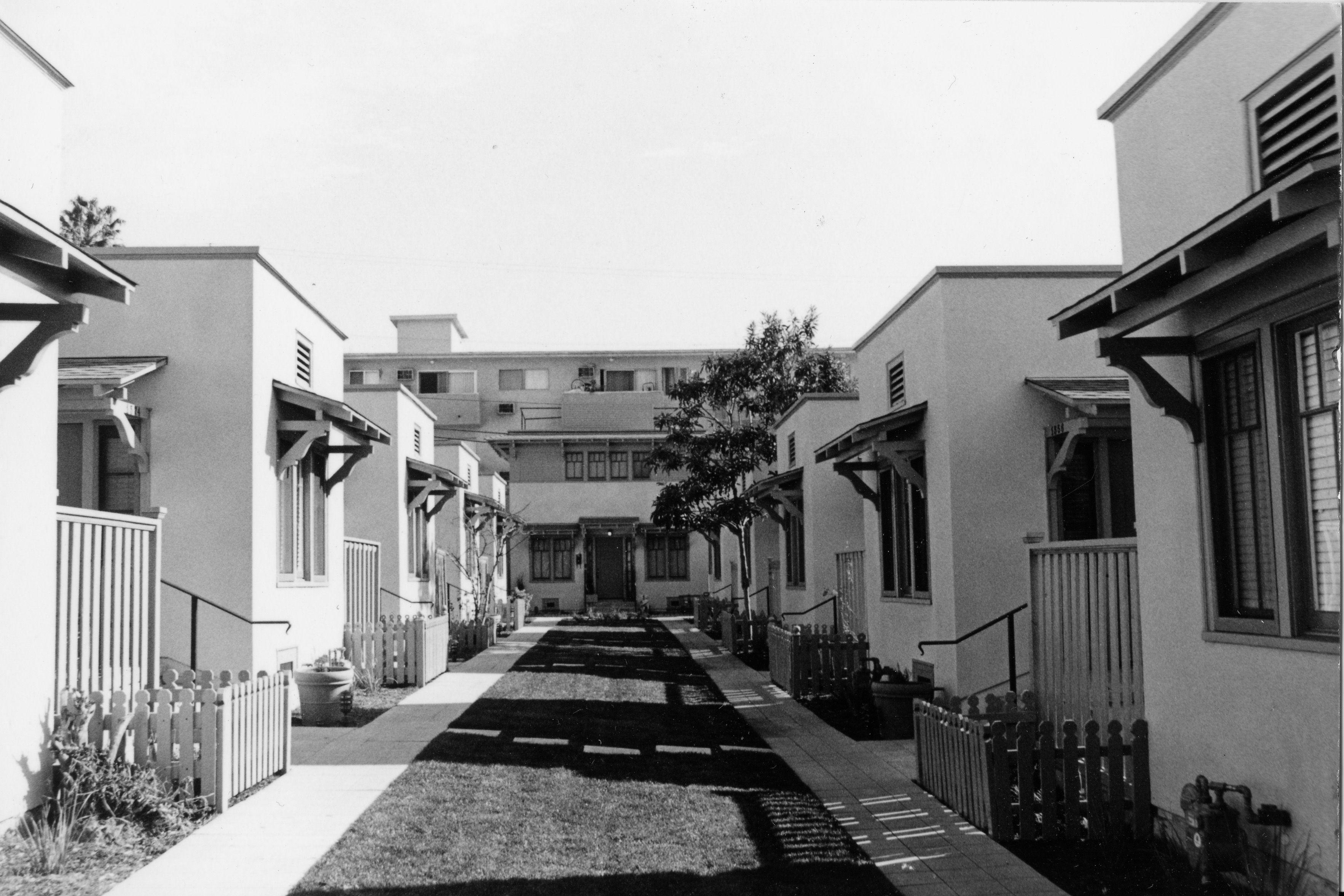 1516 N Serrano Bungalow Court Los Angeles County An Eleven Unit