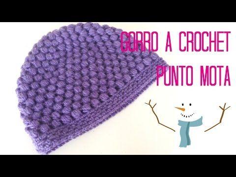 Como Hacer un Gorro en Crochet Para Niña - YouTube  b2376aabfd5