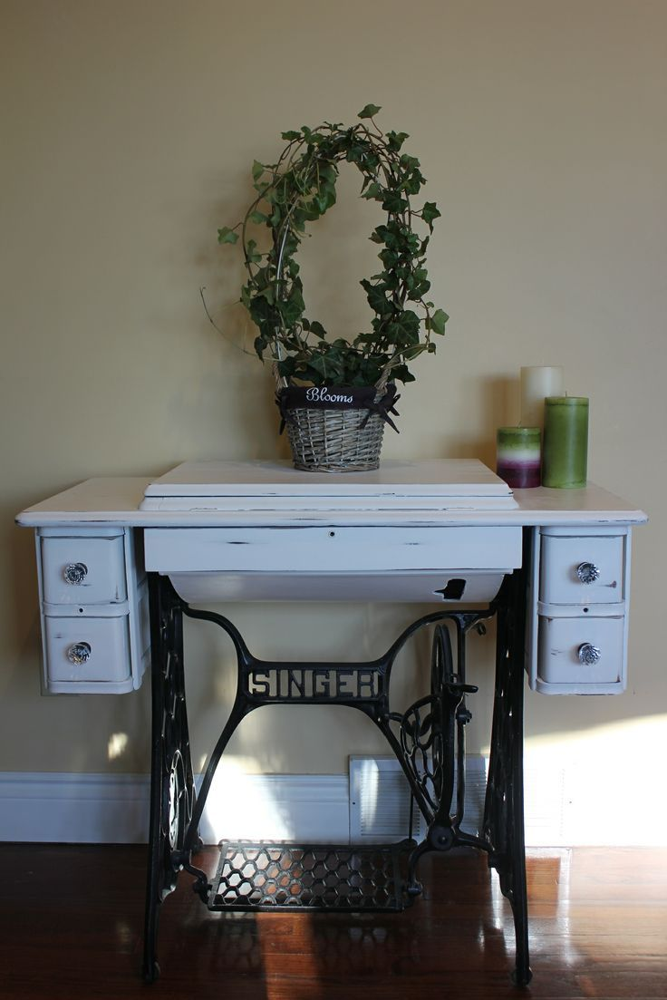 Second Life Of Singer Sewing Machine Table RePinned By: *Doniele Disney*  Www.