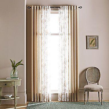 MarthaWindow Promenade Grommet-Top Curtain Panel