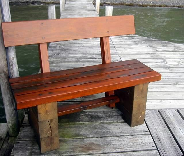 Phenomenal Outdoor Bench 6X6 Post As The Base In 2019 Timber Framing Lamtechconsult Wood Chair Design Ideas Lamtechconsultcom