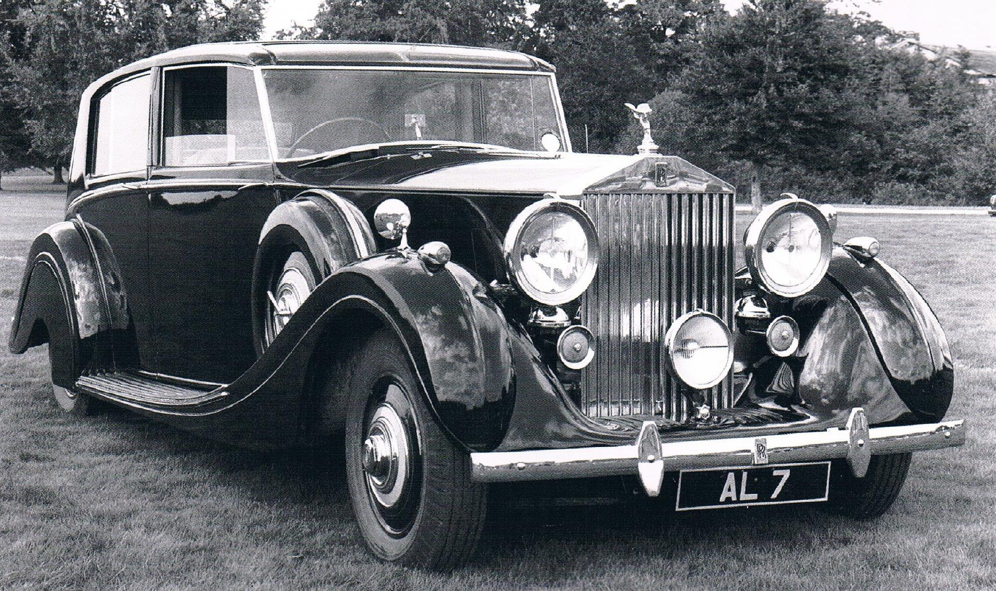 Limousine By H J Mulliner Chassis Wxa22 Rolls Royce Classic