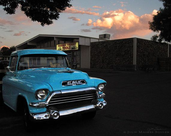 1957 Gmc Pickup Truck Photo Art By Juliemagerssoulen Gmc Pickup Trucks Pickup Trucks Gmc Pickup