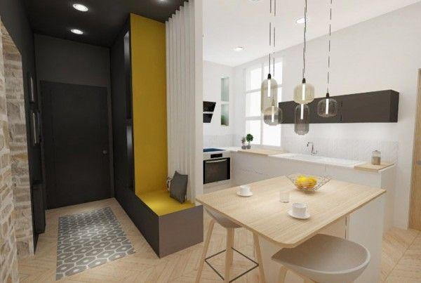 le sathonay marion lanoe architecte interieur decoratrice lyon renovation 01 tendances cuisine. Black Bedroom Furniture Sets. Home Design Ideas