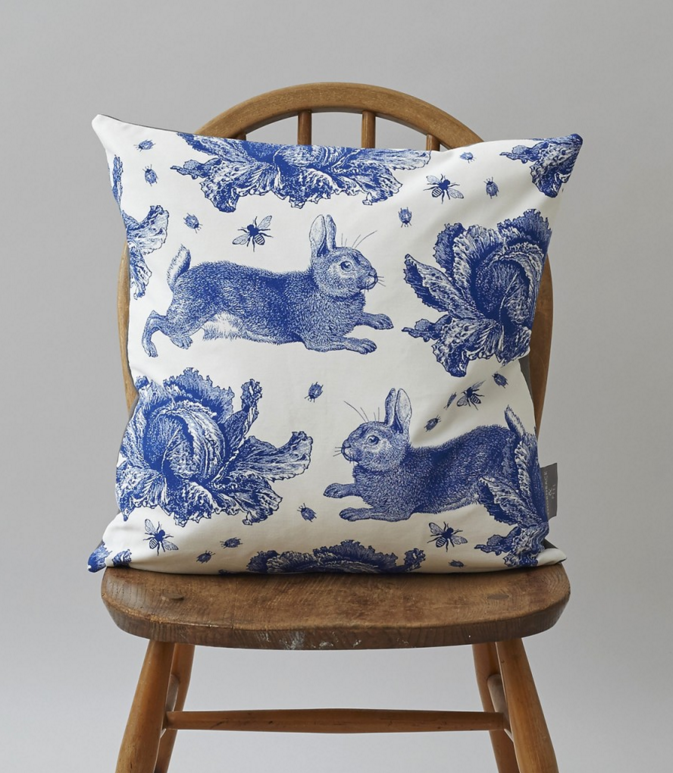 Bunny pillow by Thornback & Peel
