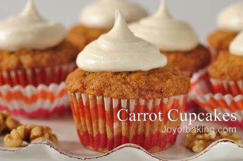 carrot cupcakes!