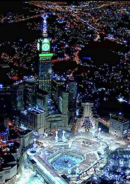 A Night In Mecca In 2020 Mecca Wallpaper Mecca Kaaba Mecca