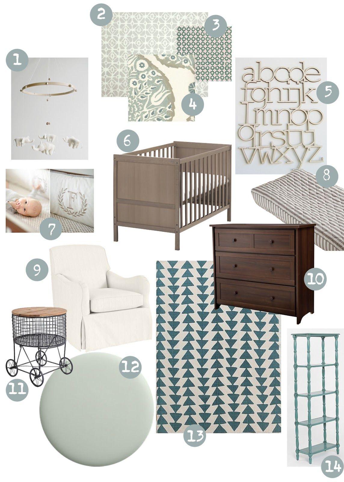 Sweet Abode Neutral Nursery Ideas Love This With A Dark