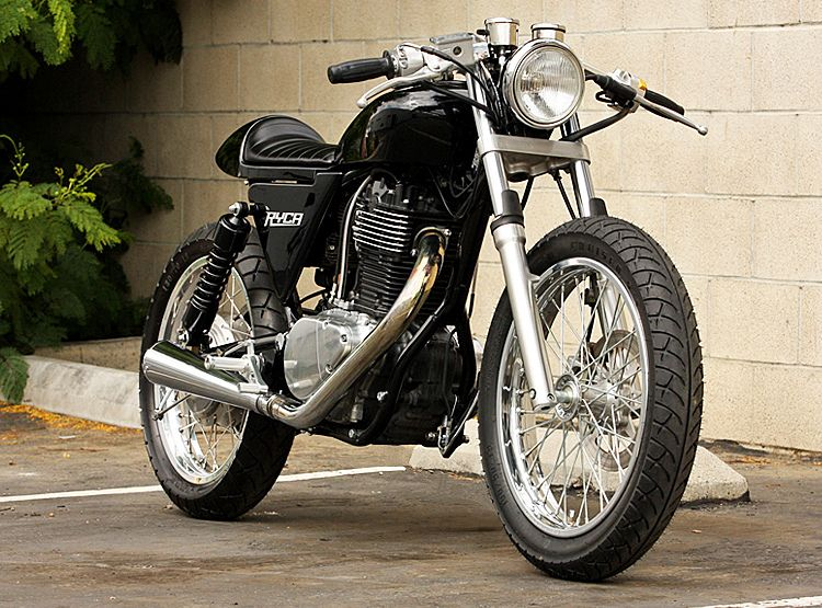 Custom Cafe Racer Motorcycle Kits for Transforming an Old